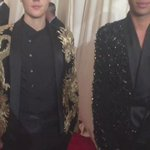 The #MetGala red carpet princes—@justinbieber and @ORousteing. http://t.co/23VqVfdv2y