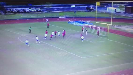 Check out this insane goal from James Island's win tonight with TWO bicycle kicks http://t.co/gePvChHb3t