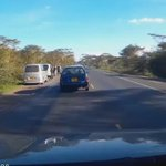 "@KenyanTraffic via @dnkariuki   Beware of fake accident victims like this. Naivasha near Delamere farm. http://t.co/u0sppTNFOL"" @davidkuria"