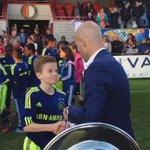 Medailles voor #Ajax D1, de kersverse kampioen van Nederland!