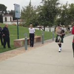 The 2015 San Bernardino County Peace Officers Memorial Ceremony opening #SBCSD #ThinBlueLine http://t.co/sB6SsG00bR