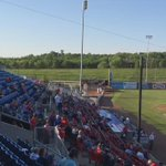 Opening night for The @SiouxCityXs vs Sioux Falls Canaries. #SiouxlandNews http://t.co/FlGKHqM6Yv