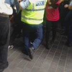 Protests are getting quite violent outside SkyCity for the PMs speech. Paul Henry ambushed by protesters too: http://t.co/PCU81Rgq0l
