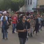 I would say protest over #OlympiaShooting has grown to 1,000+. #Q13FOX http://t.co/LH9dBjdwX5