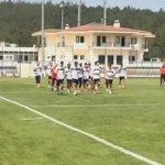 Derbi maça hazırlanan takımımızın bugünkü antrenmanından görüntüler. #Beşiktaş http://t.co/enMpxkj8EQ