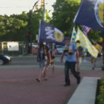 @NFCRoadies making their way into the @NashvilleFC match #OurTownOurClub http://t.co/JgDPcktlOT