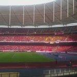 Visual terkini di Stadium Nasional Bukit Jalil menjelang #PialaFA Kelantan vs Lions XII malam nanti. Video: Aini Adam http://t.co/mieWQG0wEI