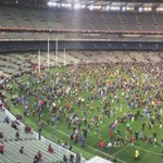 The best part of any day @MCG ? Kick to kick after the game! Great to have it back. @abcgrandstand @AFL http://t.co/0daKHdEQbN