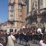 Des fanfares, du soleil et de la bonne humeur à #Lille ! http://t.co/TY6VPQLyKH