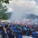 Primeros problemas con los ultras del Oviedo, que pena!!!!@CDC_CadizCF gritos de Puta Cádiz... http://t.co/1Mgwma2RCp