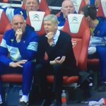BRILLIANT: Arsene Wengers reaction to Jack Wilsheres stunning volley today. http://t.co/RqiXa8lLEm