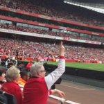 De frente al golazo de JACK WILSHERE #Goal8 http://t.co/pf1UAkoXGW
