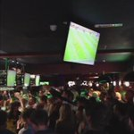 The moment fans in a Norwich bar had been waiting for when the final whistle blew #otbc #canaries http://t.co/2pVr5Sn1Vs