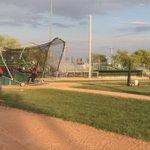 Training camp continues at Currie Field for the @ReginaRedSox - home opener Friday at 7. @GlobalRegina #yqr http://t.co/tkpgSJ0pm5
