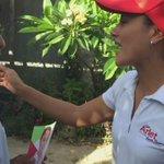 Me encuentro invitando a mis vecinos de #Chetumal a que este 7 de junio #VotenPorArlet #VotenPRI ¡#CuentanConmigo! http://t.co/y0sBcY0ROm