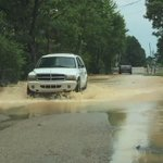 Checking on Brookland. Water coming down #arwx http://t.co/VsrR6GVuJX