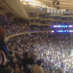 #TheGarden is filled with @HLundqvist30 chants! Are you cheering along?! #Game7 http://t.co/6zNHOLlIxN