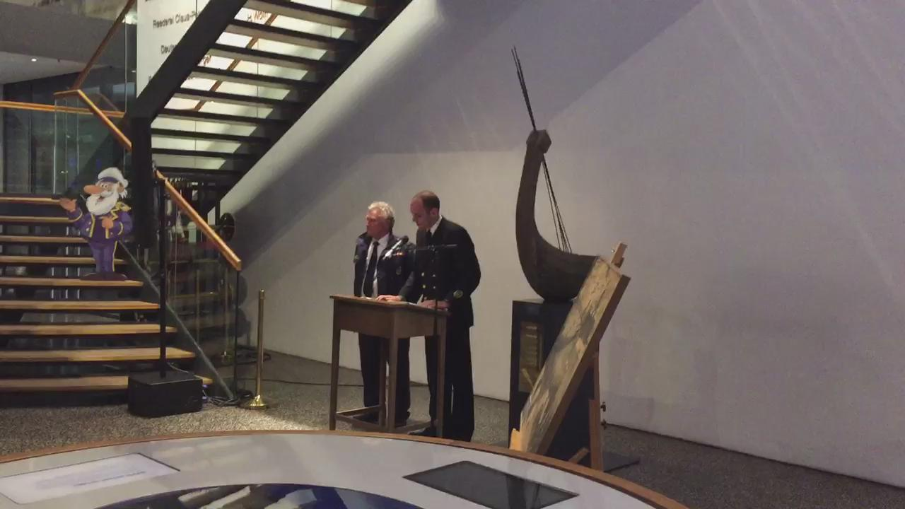 BEST OF: Keynotespeakers @WerneJochen GOST & Richard Hart RCPYC @thenwd2015 Reception @maritimesmuseum @hamburg_de http://t.co/2q8xR95W7q