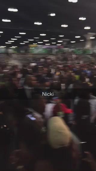RT @pmbenson33: Nicki shuts it down #BETXCelebBball http://t.co/yA7cc0okEW