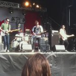 Big #BeastSighting! @hollerado rocking the stage at Chinguacousy park and wearing a Beast jersey! #CanadaDay http://t.co/MQ51H6iQkS
