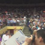 Still waiting for @BernieSanders. In the meantime, heres a 360 of the crowd. #FeelTheBern http://t.co/qFUijZ5saM