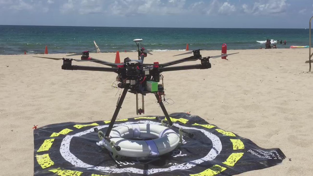 Headed 2 the beach 4th of July. In #PompanoBeach Fl, lifeguards test new way 2 get 2 victims quickly @TODAYshow 740am http://t.co/N2XVLAe1W7