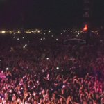 Ohhhh, so thaaaats what its like to hear 80,000 people singing Latch! @orangefeeling The. Best. Crowd!! #rf15 ???????????????? http://t.co/cqtSIZNpt0
