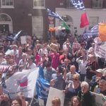 #irishwater Dublin Athens Athens were with you #oxi http://t.co/gDzEVENpxW