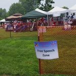 #USA! #USA! #USA! MT @search4swag They expected protesters in #Ferguson today: #FreeSpeech zone to corral protesters http://t.co/ybUythboax