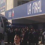Llegada de la Selección #ARG, al estadio Nacional de Santiago. #Chile2015.. http://t.co/TUwolzHLzm