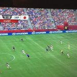 Carli Lloyd with a ridiculous goal in the World Cup final vs Japan. From the halfway line! http://t.co/psiT7GnFoz