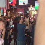 USA celebration in Santa Barbara #WomensWorldCup #USA http://t.co/TaaJMBY4WL