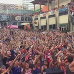 Thank you to everyone who came out to @KCLiveBlock! What a great atmosphere! #FIFAWWCFinal http://t.co/anWuoO8Qxr