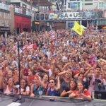 WE ARE THE CHAMPIONS! Time to celebrate, KC! #KCLiveOnJuly5 #USWNT #USAvJPN http://t.co/vPiSPo4Xyw