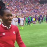 World class performance from @WVUWomensSoccers @keishaballa - the FIFA World Cup Young Player Award winner! http://t.co/Fn9zakDqg5