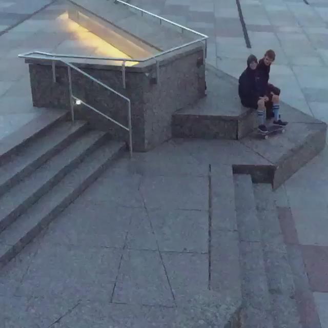 Ghetto Bird in Berlin | @chrisjoslin_ on the etnies #WishYouWereBeerTour | shot by @fullflexzef http://t.co/0HIynMK22t