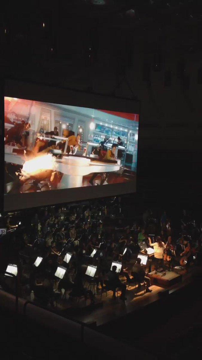 Video: Rehearsing @m_giacchino's @StarTrekMovie w/ @chefdorch! #StarTrek http://t.co/6e81FnsbJM