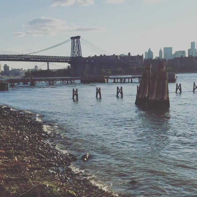 A little piece of serenity in #Brooklyn. #williamsburgwaterfront http://t.co/GH8Fxmm6P6