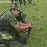Indian Army at its best :P Coward Dogs of India :D  #SurgicalStrike   https://t.co/fbqnEZckd9