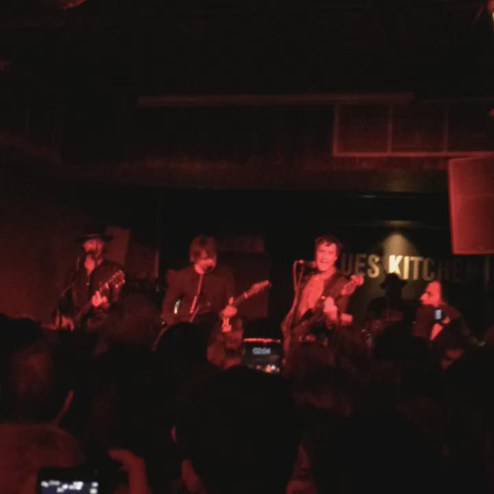 So #thelibertines have just gone onstage at Camden blues kitchen - smallest gig in over a decade http://t.co/3HFBlOsfhR