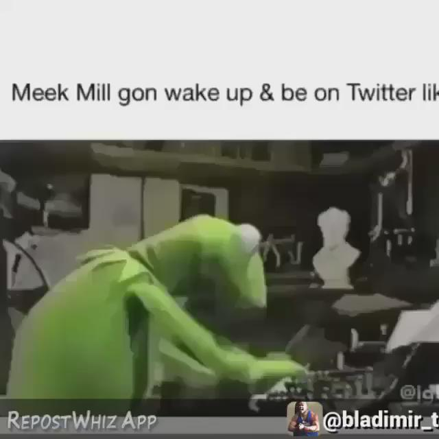 When @MeekMill wake up and listens to #BackToBack http://t.co/bf7anaT0BA