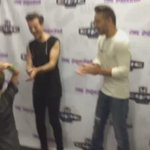 THE BOYS TRYING TO LEARN TO WHIP & NAE NAE FROM A LITTLE BOY 😂  #MTVHottest One Direction  http://t.co/nWgUnWhep9