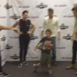 Part two of the boys with Gavin doing The Whip! Harry actually attempts it and Gavin jumps on Niall haha http://t.co/7nfSX4XkP2
