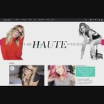 The new site!! @TheHauteMess http://t.co/j6DEfhE1gc