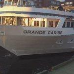 Grande Caribe @BlountSmallShip arriving at the floating dock. #crusie @nancyblount @bemacmillan @VisitSaintJohn http://t.co/EEuDnbLr96