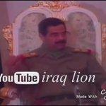 #حرقوا_الرضيع صدام حسين : اطلقت 39 صاروخ على اسرائيل ، من يكمل الـ 40 ؟ رحمك الله يَ أسد الامه . http://t.co/zXGMLh1wPO