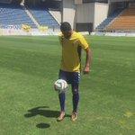 Dani Güiza ya viste de amarillo en #Carranza http://t.co/Q7ampZi2YY