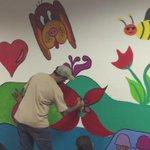 Los Voluntarios de @morganrse realizan un #MuralSolidario en Hospital de Chepo @sembrartepty @tvnpanama @tvnnoticias http://t.co/VL44qaxW3p