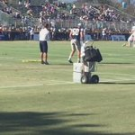 Some of Sean Lees resistance training, that hes done while team runs 11-on-11. #CowboysCamp #WFAACowboys http://t.co/iDdOV5U6Py