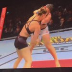 Thats how an American does it. @RondaRousey you slated! ???????????????? #UFC190 http://t.co/mTawSGGSD7